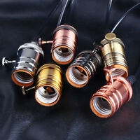 Edison Vintage Retro Lamp Light Base Socket Holder for E27 E26 Screw Bulbs 220V&