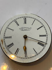 American Waltham Mass Riverside Pocket Watch Movement Antique