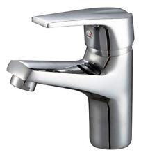 RUBINETTO lavabo cromo miscelatore Rotondo Leva Singola Mono Blocco Moderno Bagno Guardaroba