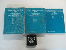 1989 FORD AEROSTAR / RANGER / BRONCO II TRUCKS 2 VOL. SERVICE MANUAL 3 BOOK SET