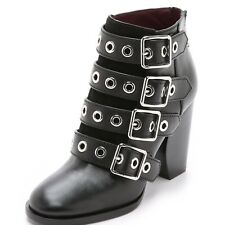 NEW Marc by Marc Jacobs Marnie Buckle Ankle Boots Booties Retails $530