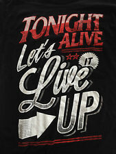 TONIGHT ALIVE - LET's LIVE IT UP  ( Official Merchandise)
