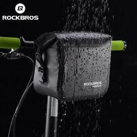 ROCKBROS Cycling Handlebar Bag 100% Waterproof Scratch-resistant Front Bike Bag