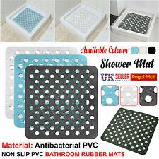 Large Strong Suction Anti  Slip Bath Shower PVC Rubber Mat Bathroom Rug