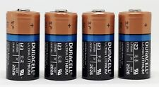 4x Duracell 3V Ultra Lithium Batterie 123 - DL123A/CR123A/CR17345