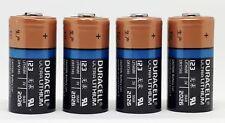 4x Duracell 3V Ultra Lithium Batterie 123 - DL123A/CR123A/CR17345