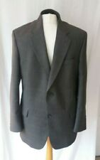 "Men's Light Checked Sport Jacket Country Gent Twill Blazer Jacket By Farah 44"" R"