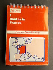 AA Travel - 1 Routes in France 1979