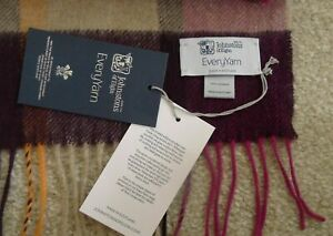 Johnstons of Elgin Pure Cashmere Scarf Limited Edition BNWT