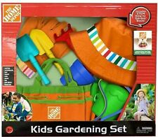 Home Depot 10 Piece HUGE Kids Gardening Tool Toys Set