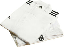 Adidas Champion 3-stripe White Open Dobok Uniform/TaeKwonDo/Karatedo