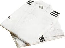 Adidas Champion 3-stripe Open Dobok/Martial Uniform/TaeKwonDo/Karatedo/Gis/White