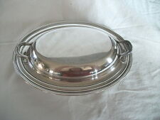 Concord International silver casserole dish #6412