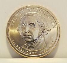 2007 P MINT UNCIRCULATED GEORGE WASHINGTON $1 GOLDEN DOLLAR COIN
