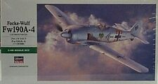 Hasegawa 1/48 Focke-Wulf Fw190A-4 Luftwaffe Fighter 9091 Model Kit New