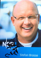 Autogrammkarte Stefan Brasse, Radiomoderator