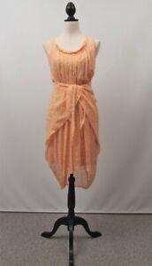 Elissa Coleman Designer Silk Dress - Size S