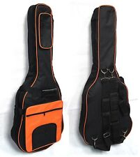 Gig Bag-Softkoffer GB31orange,Polsterung 15mm,Western/Akustik/Roundbackgitarre!n