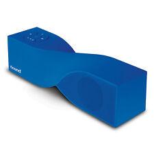 iSound Twist Mini Rechargeable Portable Bluetooth Speaker & Speakerphone - Blue