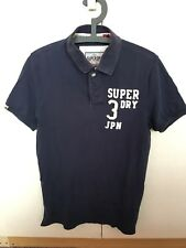 SUPERDRY - Polo Shirt - Size Large - Navy Blue used