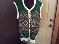 MY CHRISTMAS PARTY SWEATER SIZE XX- LARGE  SWEATER