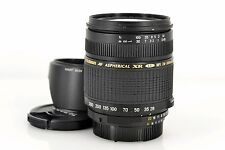 Excellent TAMRON AF XR LD 28-300mm f/3.5-6.3 MACRO A06 with Hood for Nikon