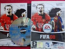 FIFA 08 COMPLETO NINTENDO WII PAL UK