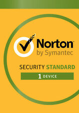 Norton Security Standard 1 Device 1 Year 2018 - Official License PC/MAC/ANDROID