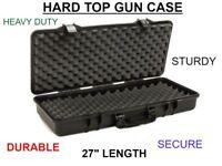 SRC RIFLE GUN Hard Case Black for Hunting/Airsoft Durable