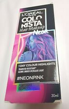L'Oreal Colorista 1 Day Colour - Neon PINK -Temporary Colour | Highlights