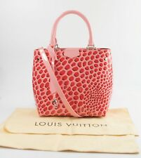 Louis Vuitton Limited Edition Monogram Vernis Jungle Dots Sugar Pink Poppy Tote