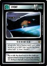Star Trek: To Be Or Not To Be [Mint/Near Mint] The Motion Picture STCCG Decipher