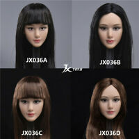 "JXTOYS-036 1/6 Asian Beauty Head Sculpt Carving Figure Model Fit 12"" Female Body"