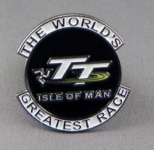 TT RACES - PIN BADGE - ISLE OF MAN MOTORBIKE RACING BIKER BIKERS DUNLOP  168