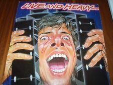 LIVE AND HEAVY * LP ALBUM * COMPILATION (NEMS 1981 NEL 6020)