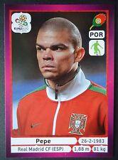 PANINI 261 PEPE PORTOGALLO EURO 2012 Poland-Ucraina