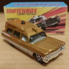 "Matchbox  63"" Cadillac Ambulance 2007/ Crafted box"