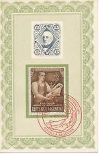 ARGENTINIEN 1950 Intern. Briefmarkenausstellung Buenos Aires 3 MAXIMUMKARTEN