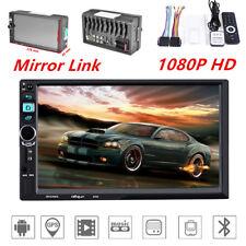 HD Bluetooth Car Dash Kit MP5 Player GPS Navigation Audio FM Wifi Mirror Link
