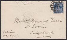 VICTORIA, 1902. Cover 221, Melbourne - St. Croix