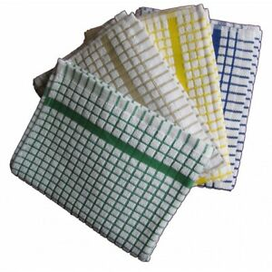 Tea Towels Professional 100% Cotton Thick Terry Kitchen Bars Restaurant