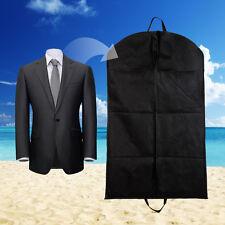 Black Foldable Dustproof Garment Bag For Suit Dress Jacket Cover Storage Travel