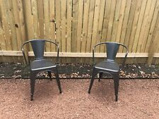 Metal Chairs Great Condition Set Of Two; Local Pick-up Preferred