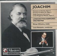 Joachim Overtures Violin Concerto London Philharmonic Orchestra Leon Botstein