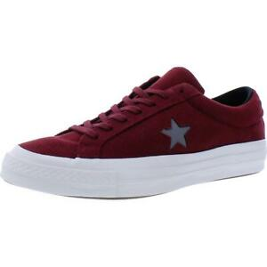 Converse Mens One Star Ox Red Lifestyle Sneakers Shoes 11 Medium (D) BHFO 6970
