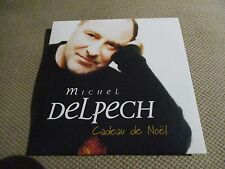 "CD NEUF ""CADEAU DE NOEL"" Michel DELPECH / 13 titres"
