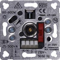 PEHA Dimmer-Einsatz 60-600W D 435 HAN passend für Berker Gira Jung Drehdimmer