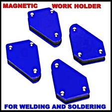 4 X Soporte para Soldadura Magnética Ángulo de las herramientas de trabajo de gas ARCO MIG Soldador Equipo Soldadura