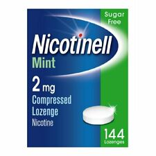 Nicotinell Nicotine Lozenges Sugar-Free Mints Candy Relieves Withdrawal Symptoms