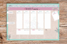 For Notes and More Wochenkalender DIN A4 Block Wochenplaner